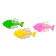 Radierer Piranha, 3-fach sortiert