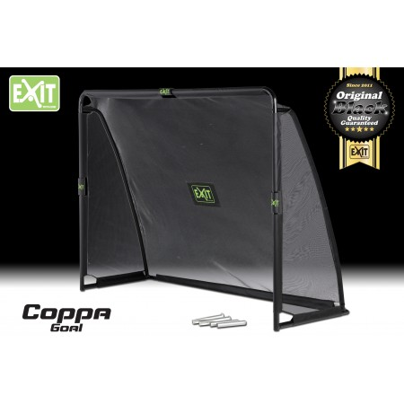 exit coppa goal 220x170x80 inkl torwand 38mm rohr fu balltore spiel freizeit nagel ihr. Black Bedroom Furniture Sets. Home Design Ideas