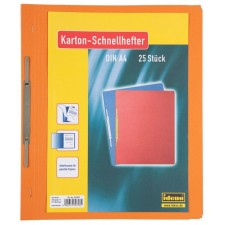 Kartonschnellhefter orange