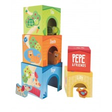 Hape Pepe & Friends Stapelturm