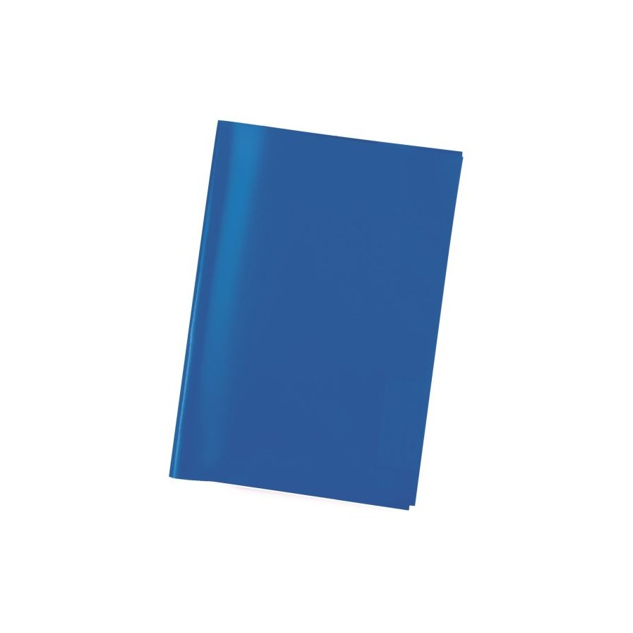 Heftschoner A4 transparent blau