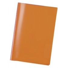 Heftschoner A4 transparent orange