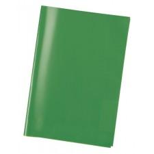 Heftschoner A5 transparent grün