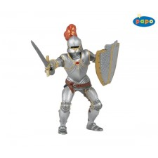 Ritter mit Rüstung, rot