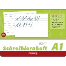 Schreiblernheft A4quer Lin A1