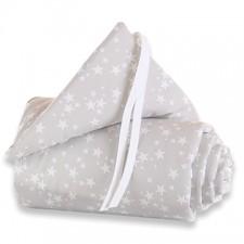 Nestchen Babybay pique Sterne weiss