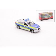 Polizei Auto Licht & Geräusch, Rückzugmotor