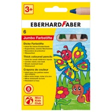 Buntstift 6er Etui Jumbo Farbstifte