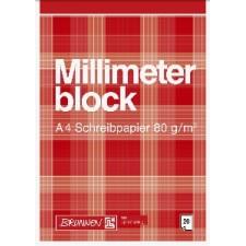MillimeterblockA420Bl Schreibpapier