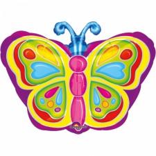 Folienballon strahlender Schmetterling  inkl. Helium