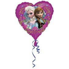 Folienballon Frozen Love Herzform inkl. Helium