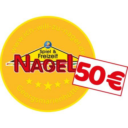 Nagel Taler im Wert von 50€