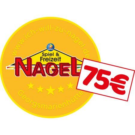 Nagel Taler im Wert von 75€