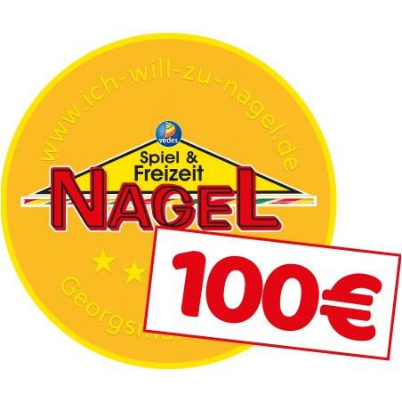 Nagel Taler im Wert von 100€
