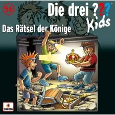 Kosmos Die drei ??? Kids CD 56 Das Rätsel der Könige