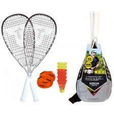 Speedminton Set Speed 7700 inkl. 6 Bälle + Courtline