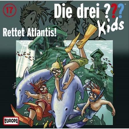Kosmos Die drei ??? Kids CD 17 Rettet Atlantis!