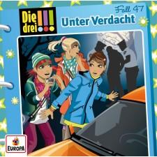 Kosmos Die drei !!! CD 47 Unter Verdacht