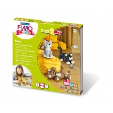 FIMO kids Form & Play Cat