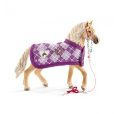 Schleich Horse Club Set Mode-Kreation und Pferd Andalusier