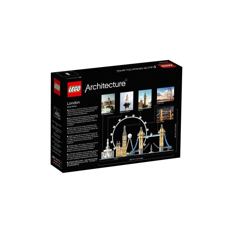 LEGO® Architecture 21034 London, 468 Teile