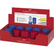 Faber-Castell Dreifachspitzdose Colour GRIP