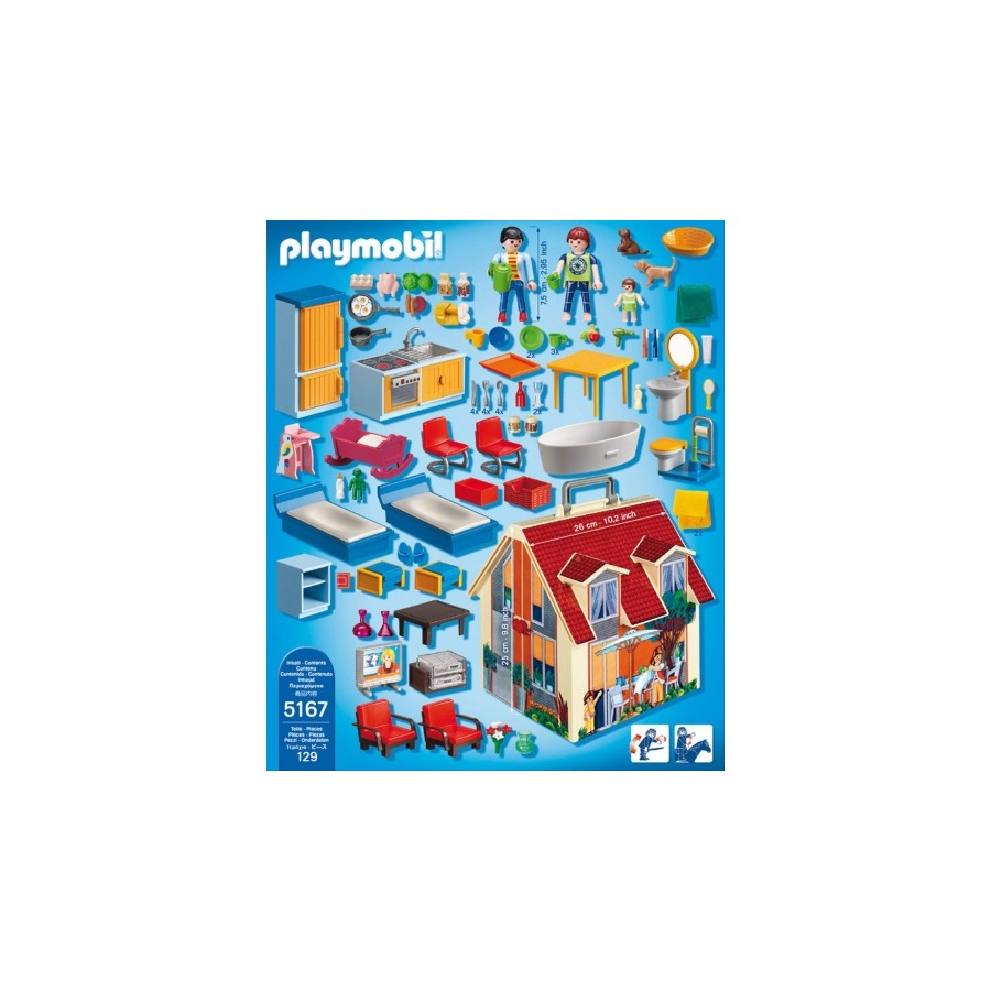 playmobil 5167 neues mitnehm puppenhaus playmobil. Black Bedroom Furniture Sets. Home Design Ideas