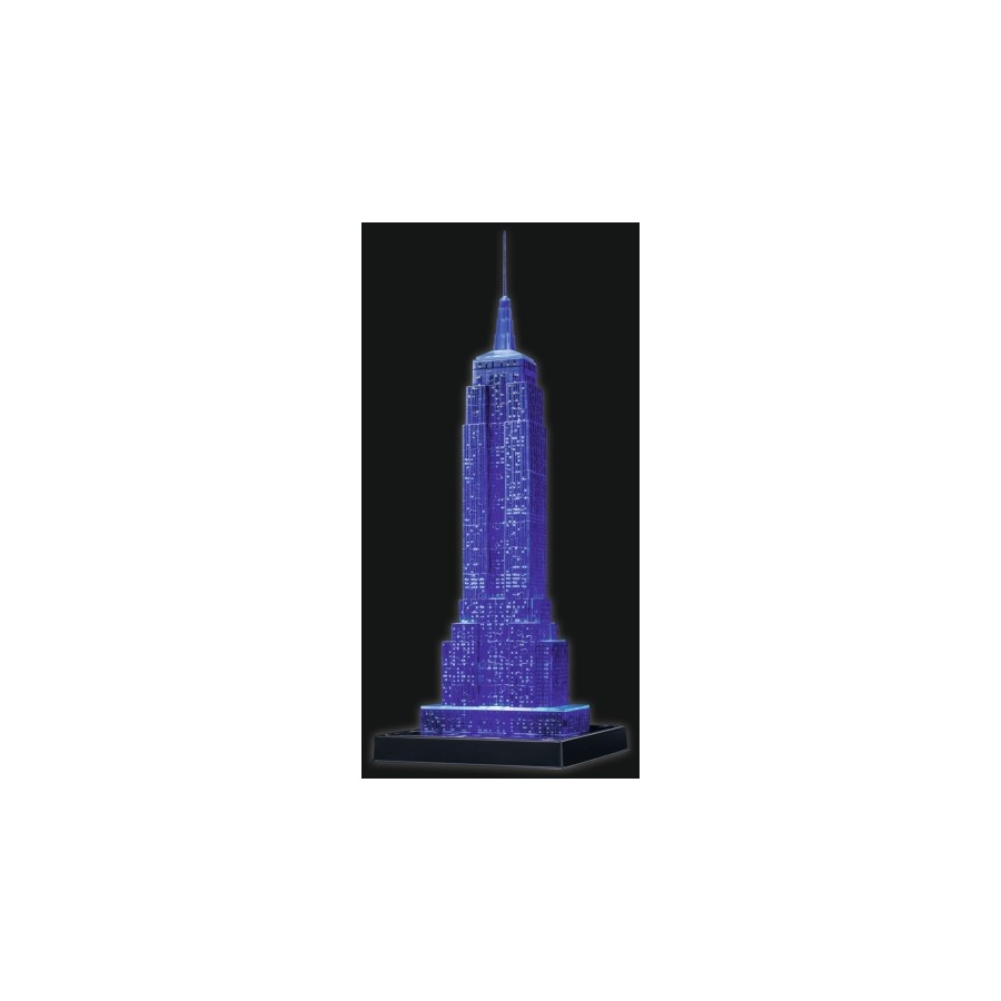 3D Puzzles Ravensburger 125661 Puzzle 3D Empire State Building Night Edition 216 Teile
