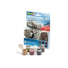 REVELL Weathering Set (6 Pigmente)