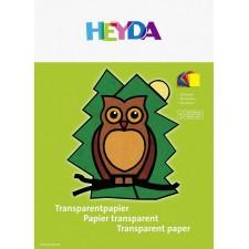Transparentpapier, 10 Bögen farblich sortiert