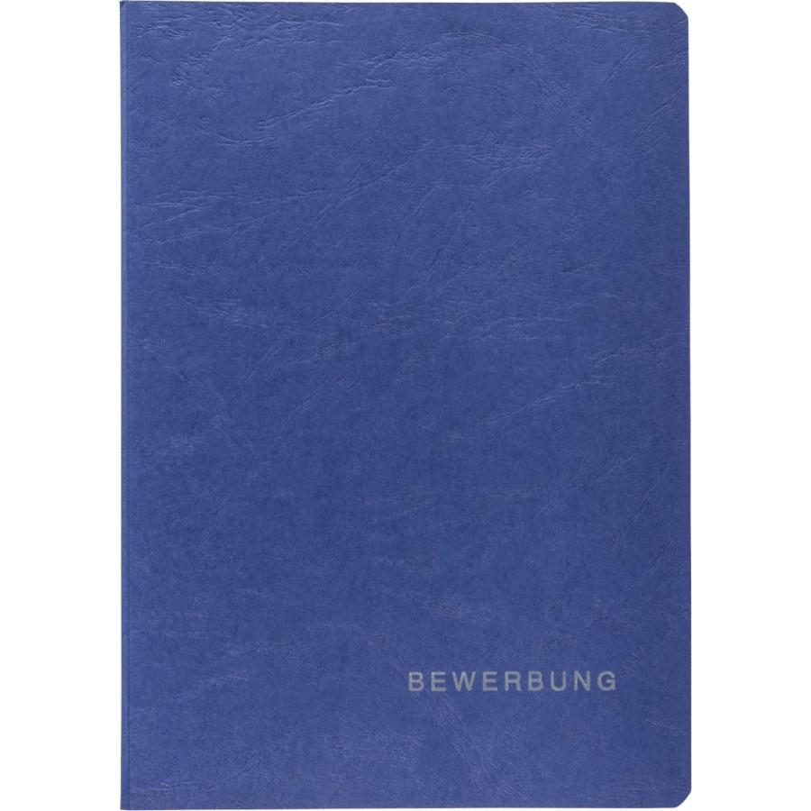 Bewerbungsmappen Blau 3tlg Karton Hefte Mappen Und Blöcke Spiel