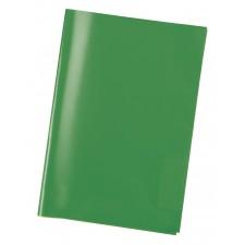 Heftschoner A4 transparent grün