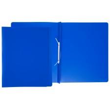 Schnellhefter f. A4, transluzent blau, Überbreite, Rücken bis auf 2 cm erweiterbar, kaufm. Heftung