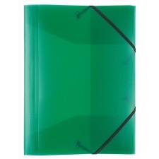 Idena Gummizugmappe A3 PP transluzent grün