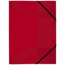 Idena Gummizugmappe A3 PP transluzent rot