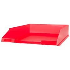 Ablagekorb rot transparent