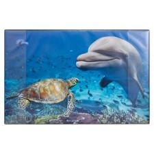 Idena Schreibunterlage Delfin 68x44cm