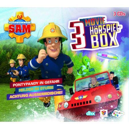 HCDS Feuerwehrmann Sam - 3 CD Movie Hörs