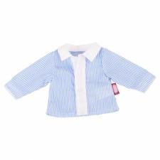Götz 34002803 Bluse, blau, 50cm