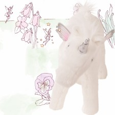 Götz 3402897 Einhorn Pegasus Opal