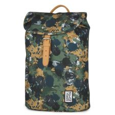 Small Backpack Print Green Camo All-Over 10L Rucksack Schulrucksack