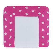 Wickelkissenbezug pink Sterne