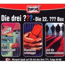 CD Box 22 Die drei ??? ( F.64,65,66)