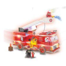 Fire Truck Laser Pegs leuchtende Klemmbausteine