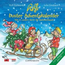 Rolfs bunter Adventskalender - CD + Bilderbuch
