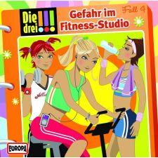 CD Die Drei !!!04 - Gefahr im Fitness - Studio
