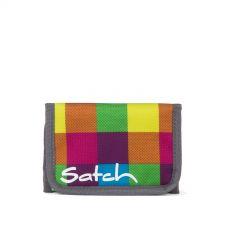satch - Beach Leach 2.0 - Karo Bunt gepixelt - satch Geldbeutel