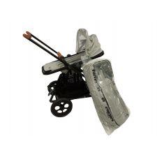 Seed Papillo black + Seat + Carrycot grey melange + Zubehör