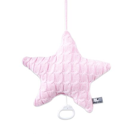 Spieluhr Stern Cable baby rosa