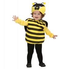 PUFFY BEE (Kostüm mit Flügeln, Kopfbedeckung) (90-104 cm / 1-3 Years)